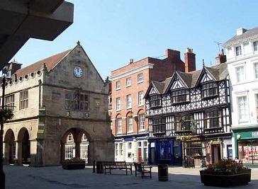 Market Hall in Shrewsbury